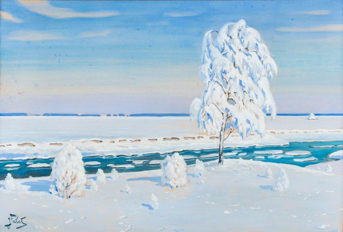Winterly landscape