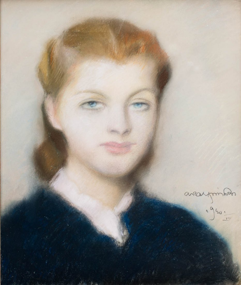 Portrait of a young lady, 1940