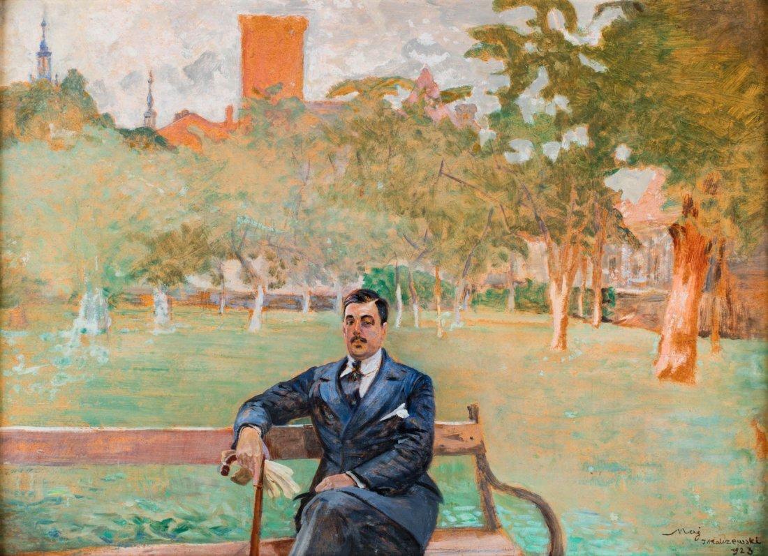 Portrait of Mieczyslaw Gasecki/ May, 1923