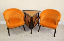 Edward Wormley for Dunbar Pair of Chairs