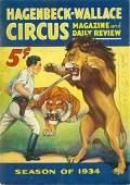 1934 Hagenbeck-Wallace Circus Program