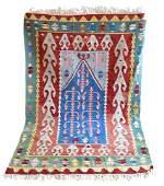 Turkish Prayer Rug Kilim