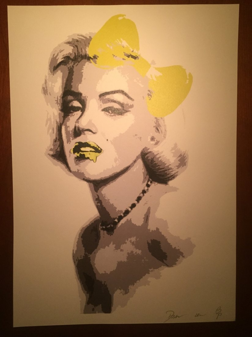 """""""Monroe Yellow Bow"""" by DEATH NYC"""