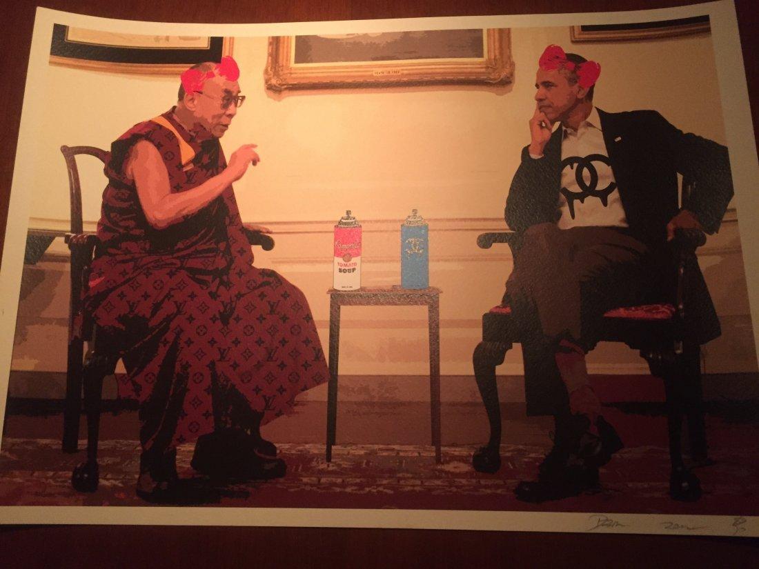 """""""Dalai Lama Obama"""" by DEATH NYC"""