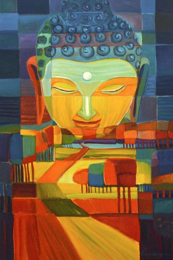 """Buddha XVII"" by Lony Wing"