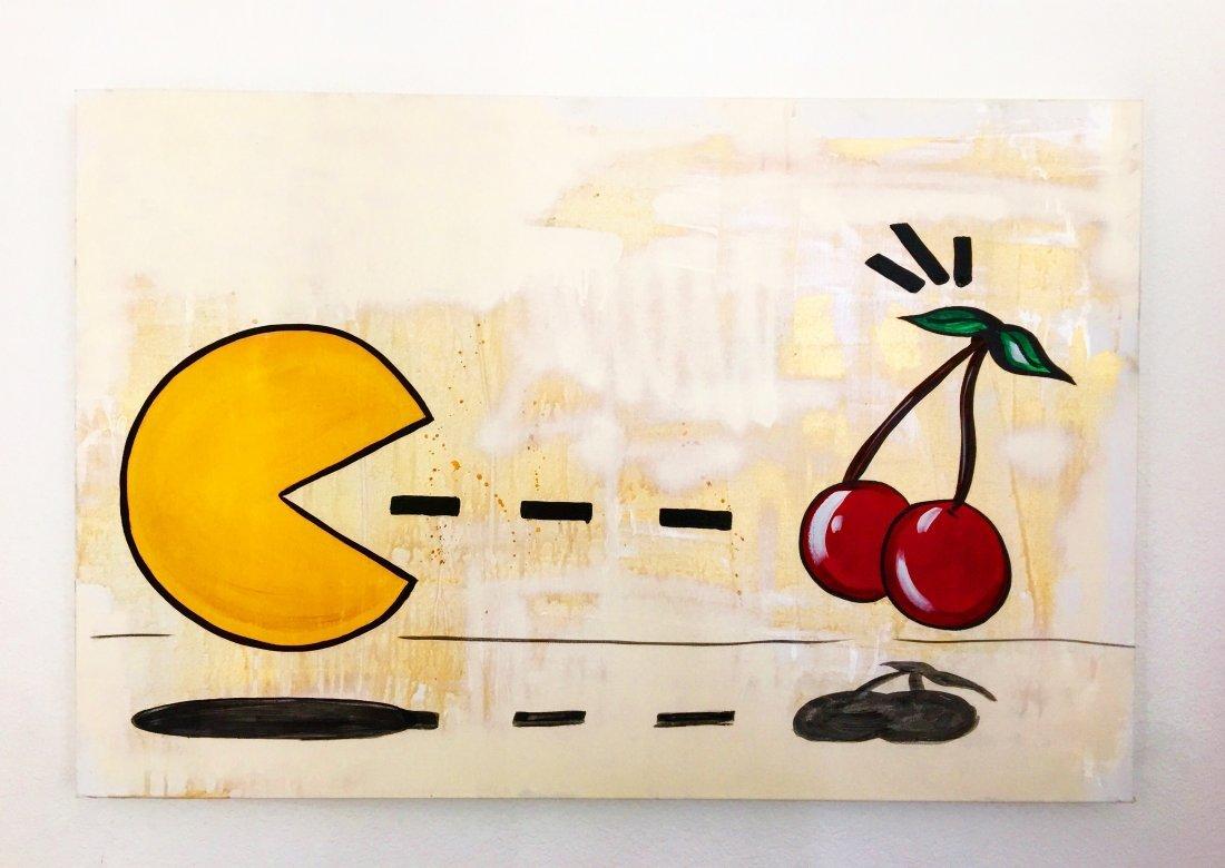 """Cherry Pac-Man""  by WIJ..."