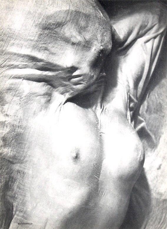 """Nude Under Wet Silk"" by Erwin Blumenfeld"