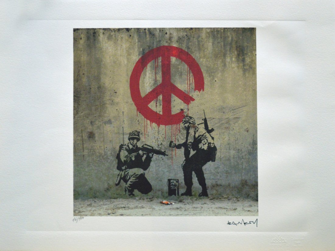 """Soldiers Painting Peace"" (2007) Archival Print"
