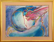 """""""I Love The World"""" by Peter Max"""