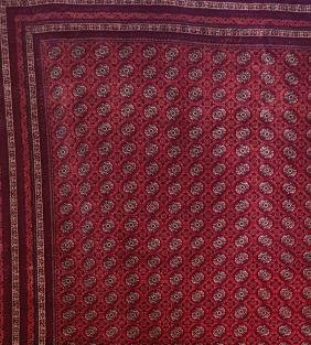 Afghan Wool Rug No. 21
