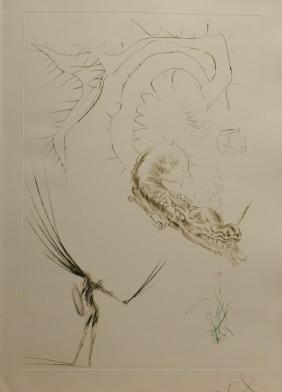 """""""Tristan et Iseult Tristan & The Dragon"""" by Salvador"""