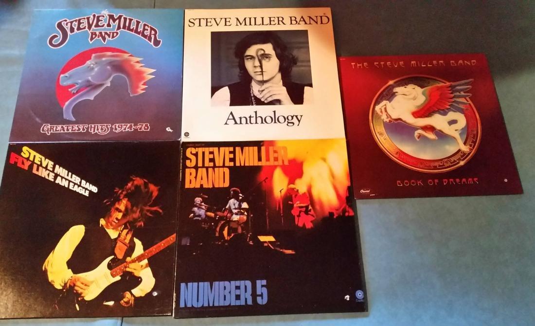 5 albums- Steve Miller Band