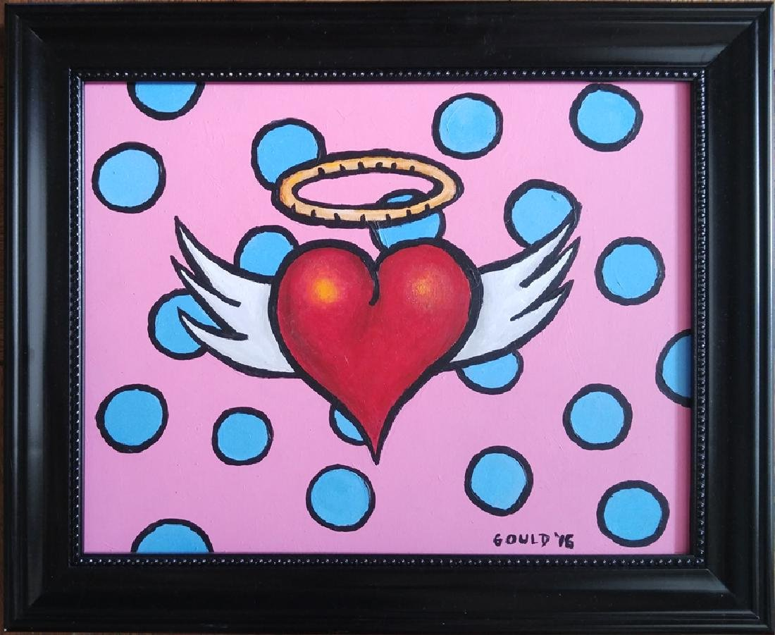 Angel Heart'' (2016) by Greg Gould, Acrylic on Panel