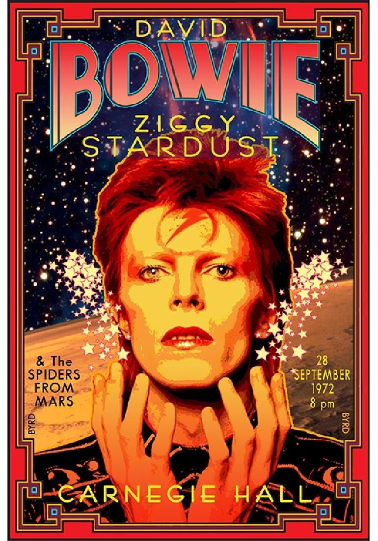 David Bowie at Carnegie Hall'' (1972) by David Edward