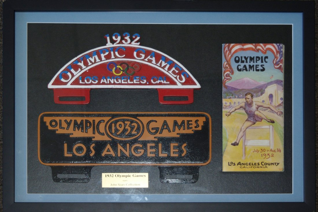 Program From the 1932 Los Angeles Olympic Games