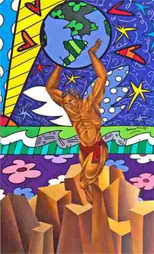 """Unity"" (2005) by Noel & Romero Britto"