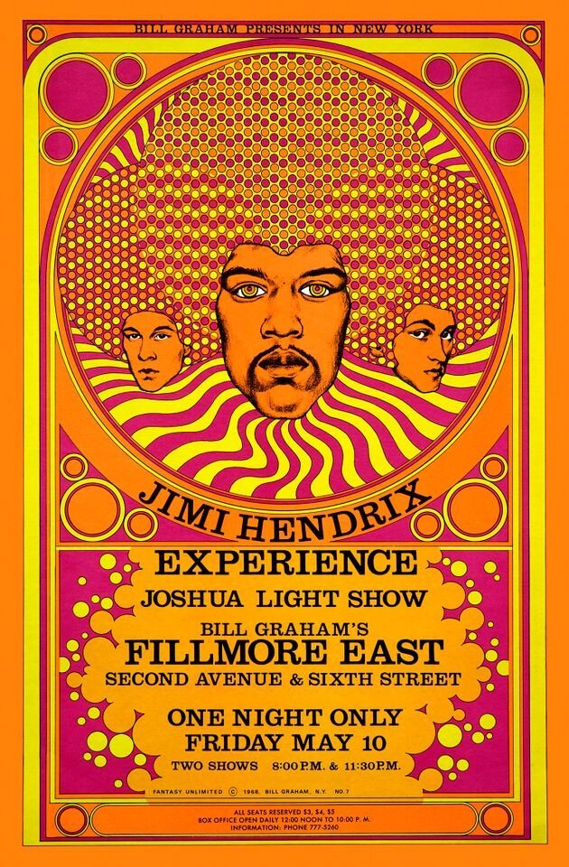 """The Jimi Hendrix Experience, 20th Anniversary"" (1988)"