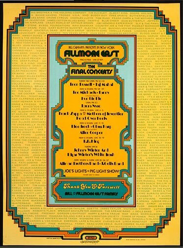 """""""Fillmore East 'The Final Days'"""" (1971)"""