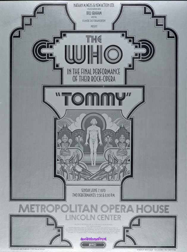 """""""TOMMY at the Metropolitan Opera"""" (1970)"""