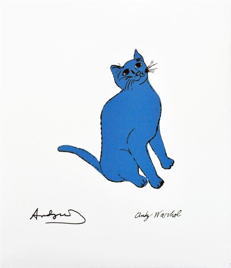 One Blue Pussy
