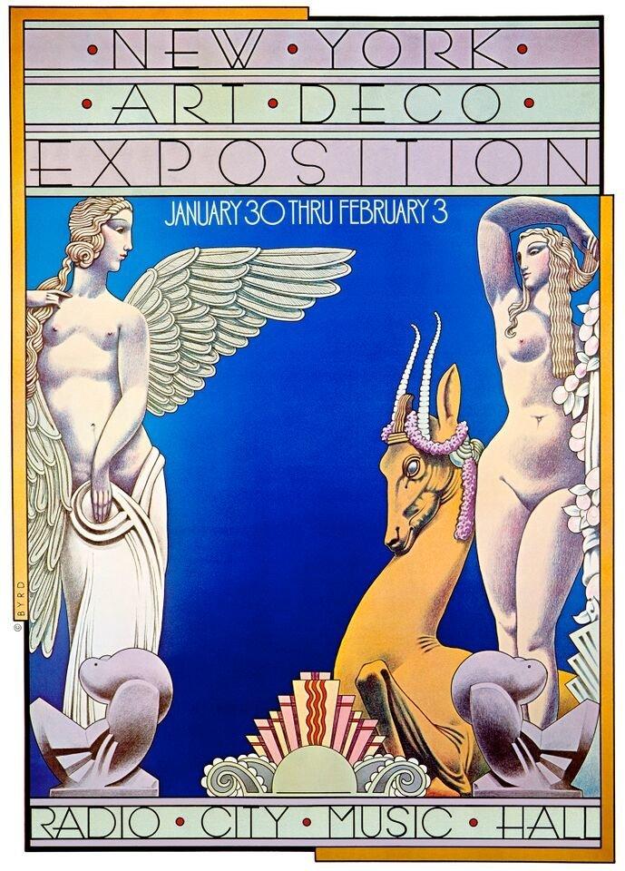 """""""NY Art Deco Expo"""" (1974)"""