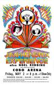 """The Jimi Hendrix Experience, American Tour"" (1969)"