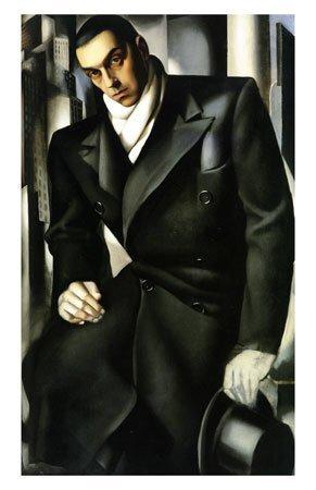 """Lempicki"" (Original artwork created in 1920's)"