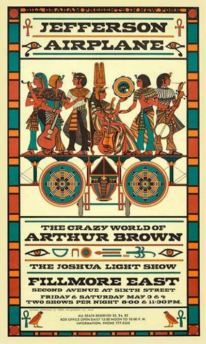 Jefferson Airplane/ Crazy World of Arthur Brown