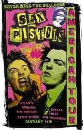Sex Pistols American Tour - David Edward Byrd