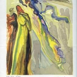 Divine Comedy by Salvador Dali