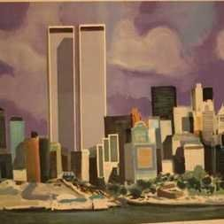 World Trade Center-Battery Park by Marcel Mouly