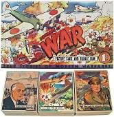 3226: 1941-42 WAR GUM NEAR COMPLETE CARD SET & MORE