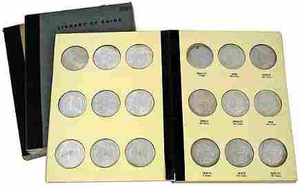 3296: 1878-1921 MORGAN SILVER DOLLAR COLLECTION (x81)