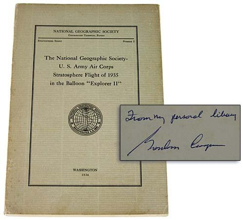 17: 1935 STRATOSPHERE FLIGHT IN BALLOON EXPLORER II