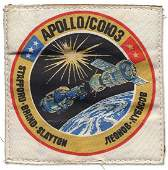 670 1975 FLOWN ASTP MISSION PATCH