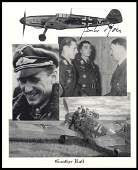 851: 1940s GUNTHER RALL SIGNED PHOTOGRAPHS