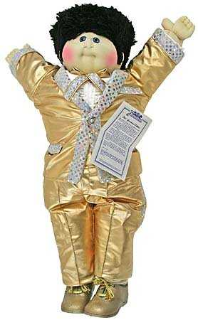 Elvis cabbage patch kid graceland edition *with birth cert. & more.