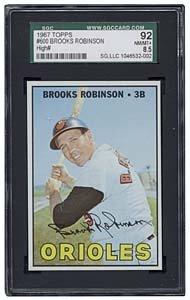 16: 1967 TOPPS #600 BROOKS ROBINSON (SGC 8.5)