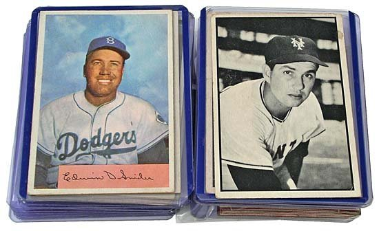 24: 1948-55 BOWMAN COLLECTION WITH STARS