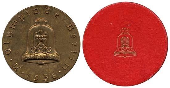 127: 1912-92 OLYMPICS MEDALS & BADGES
