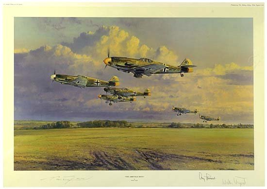 1139: 1940s SIGNED MILITARY PRINTS