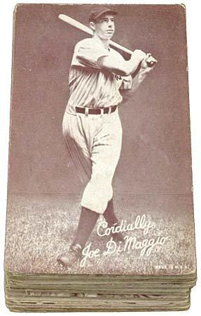 1: 1940s-50s EXHIBIT BASEBALL CARDS