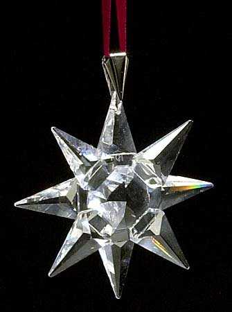 - 469: 1991 SWAROVSKI CRYSTAL CHRISTMAS ORNAMENT