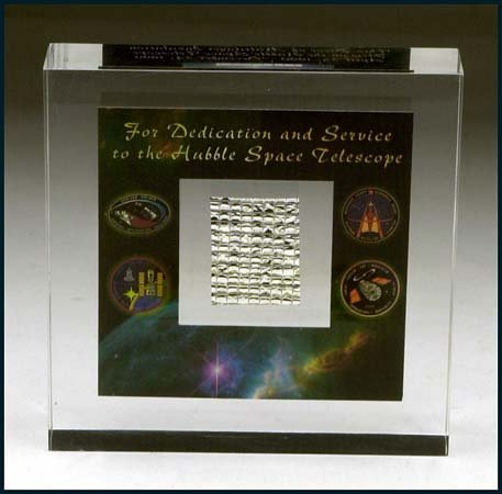 1979: 1990-99 FLOWN HUBBLE SPACE TELESCOPE MATERIAL
