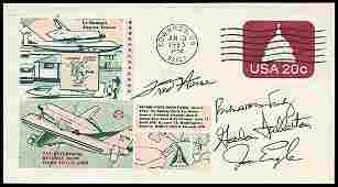 2589 1977 CREW SIGNED COVER