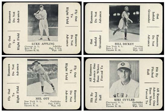 24: 1936 'S & S GAME' CARDS NEAR SET (48/52)