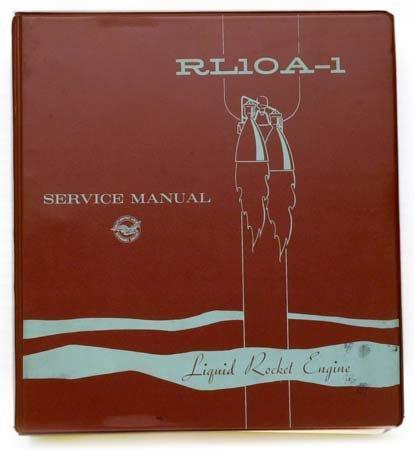 17: 1964 RL10A-1 LIQUID ROCKET ENGINE MANUAL