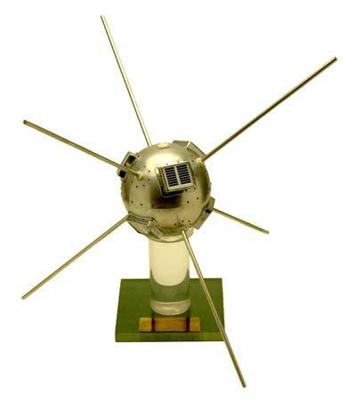 857: 1958 VANGUARD I SATELLITE MODEL