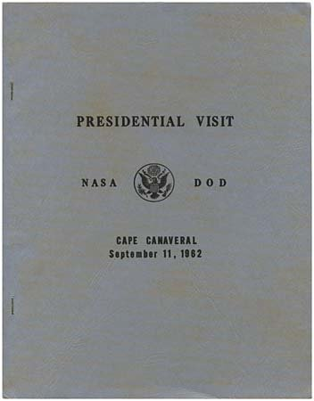804: 1962 PRESIDENTIAL VISIT OF JFK