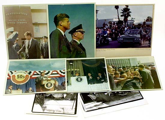 806: 1963 JFK IN TAMPA FLORIDA